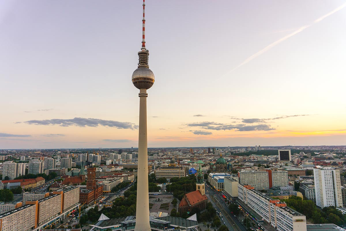 How to spend a weekend in Berlin   Travel Blog   Things to do   park inn hotel viewing platform