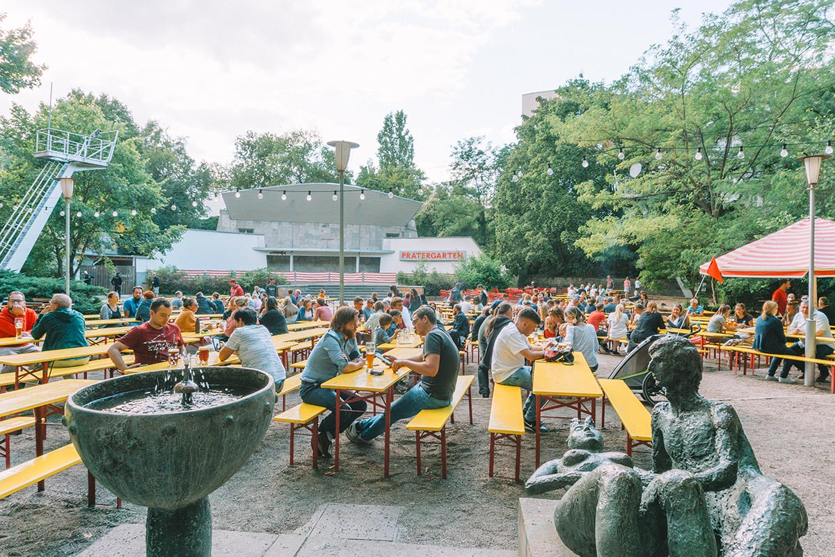 How to spend a weekend in Berlin   Travel Blog   Things to do   Prater beer garden