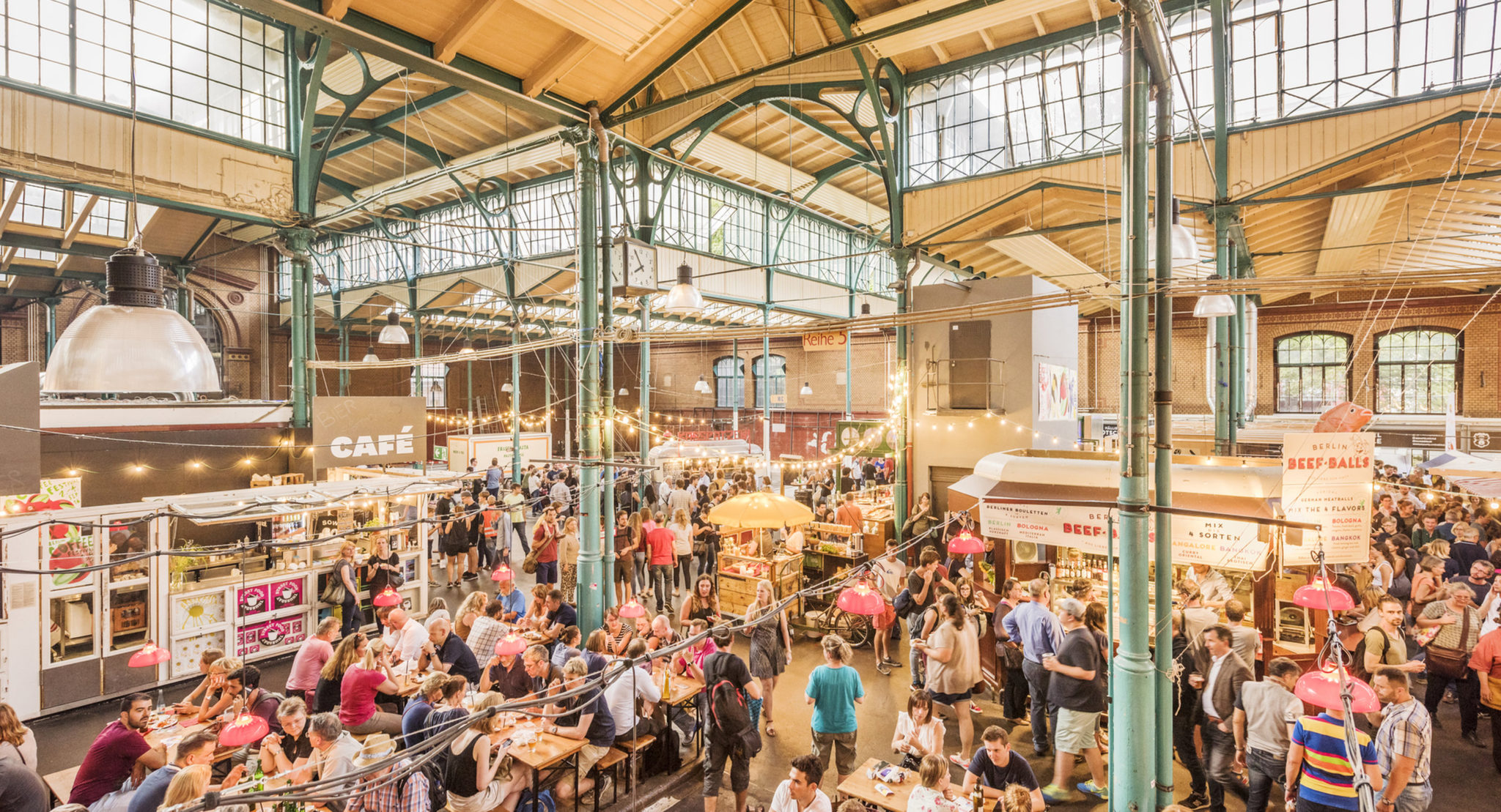 How to spend a weekend in Berlin   Travel Blog   Things to do   Street Food Thursdays at Markthalle
