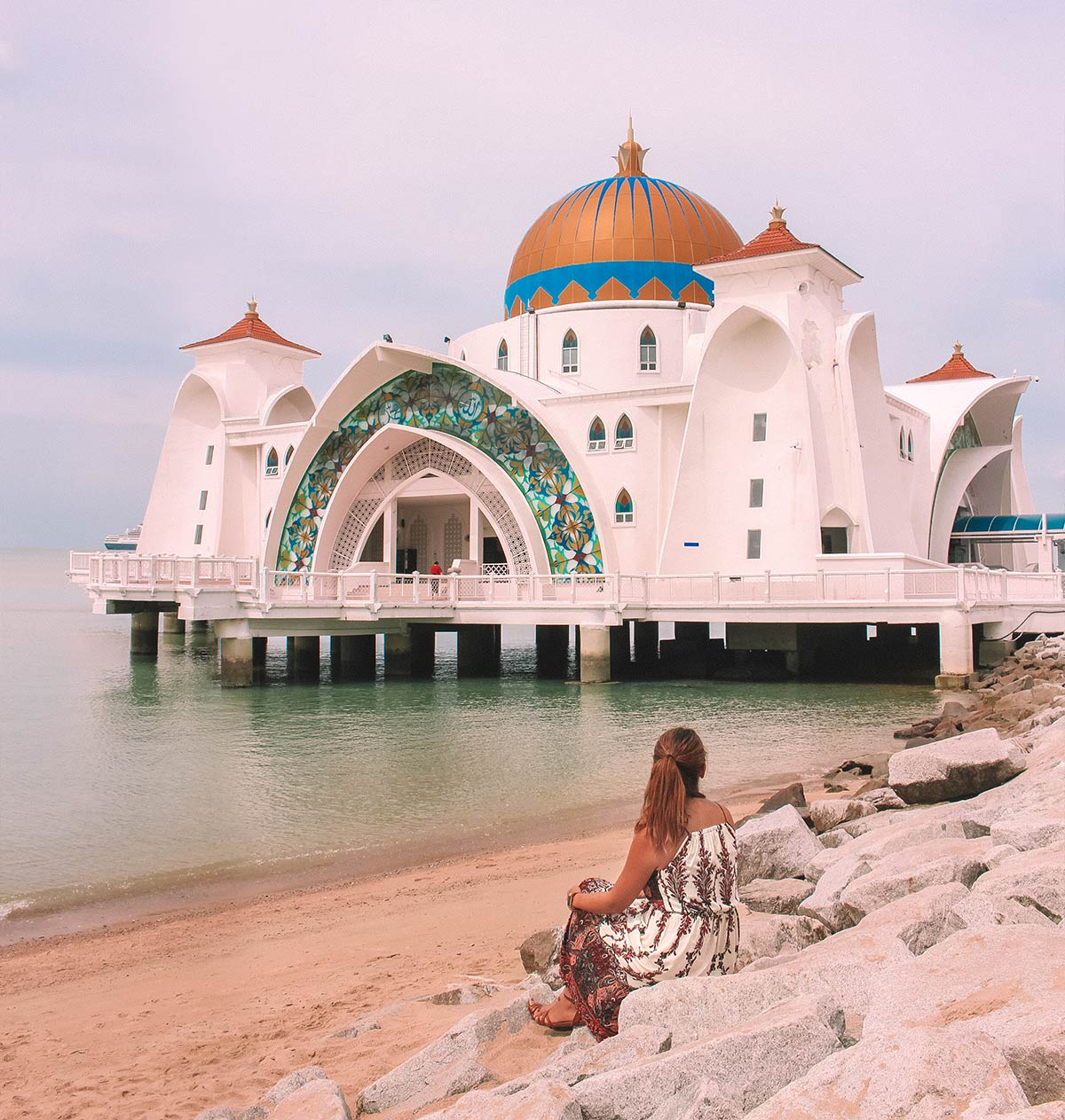 Top things to do in Melaka / Malacca Malaysia | blog post | floating mosque