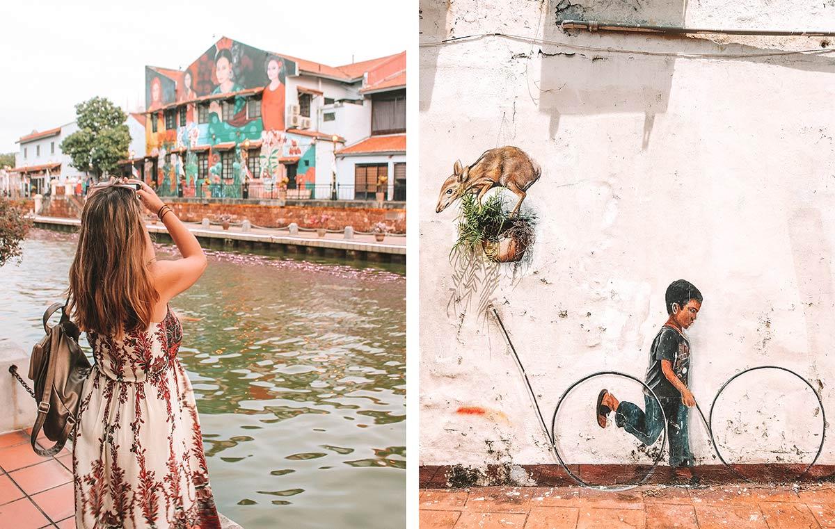 Top things to do in Melaka / Malacca Malaysia | blog post | street art