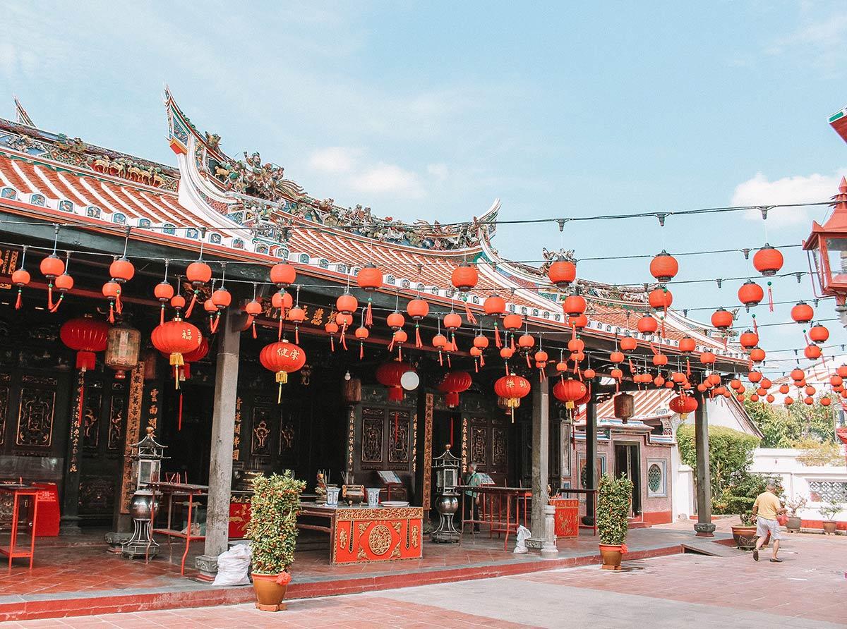 Top things to do in Melaka / Malacca Malaysia | blog post | Cheng Hoon Teng Temple