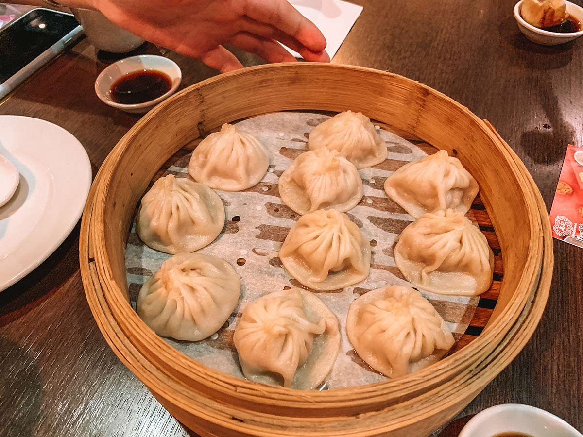 Tasting Taiwan on a Taipei Eats food tour blog post - Xiao long bao