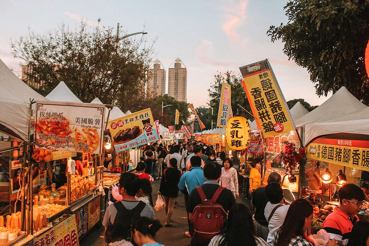 Taiwan Chinese New Year - Visiting the Kaohsiung Lantern Festival and Love River blog post 2019