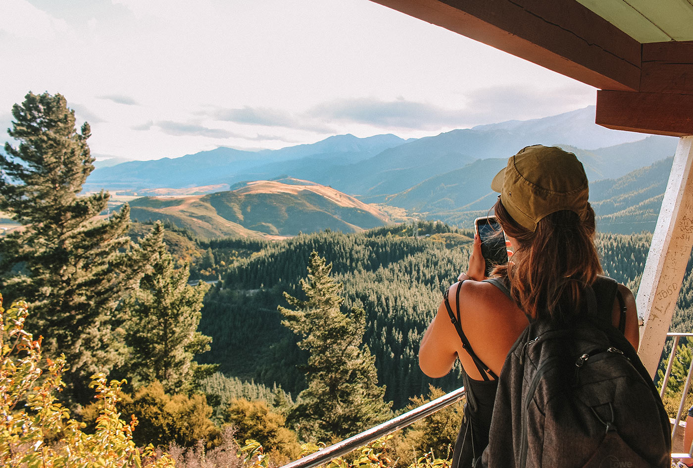 How to spend a day in Hanmer Springs, New Zealand   things to do   blog post   conical hill