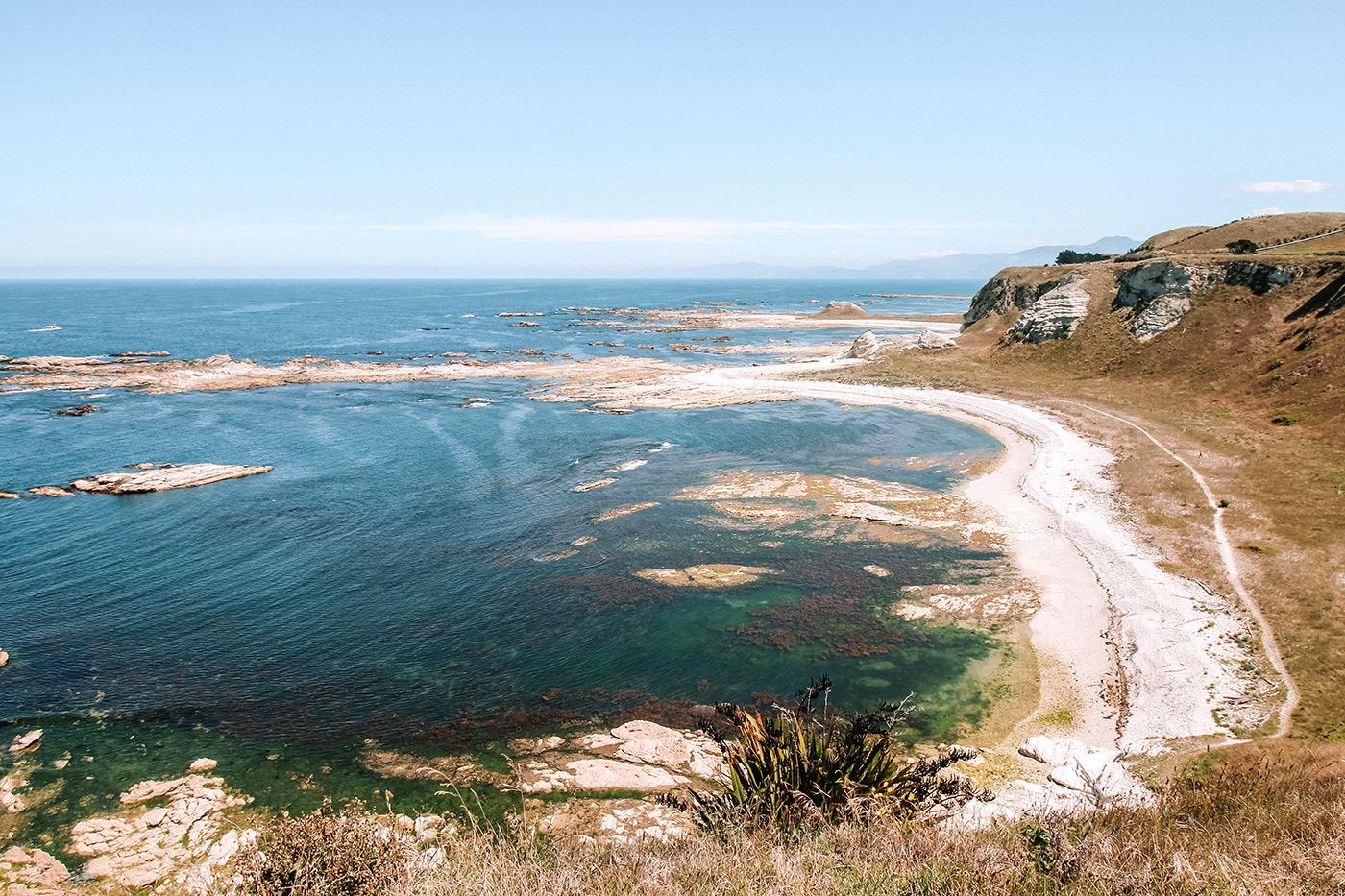 Things to do in Kaikoura, New Zealand blog post | Kaikoura Peninsula walkway