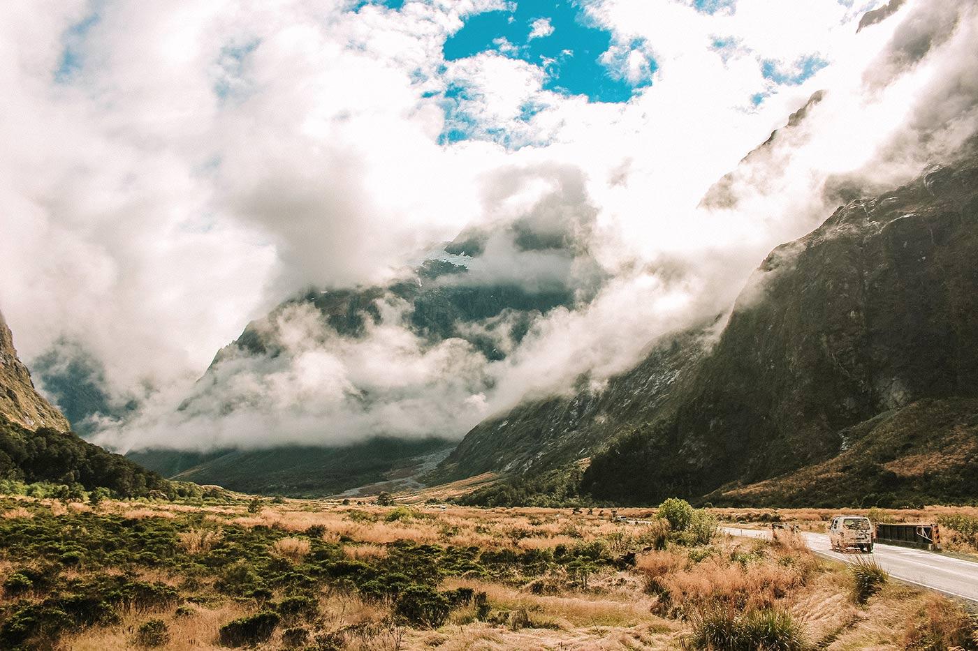 A day trip to Milford Sound, New Zealand blog post Monkey Creek