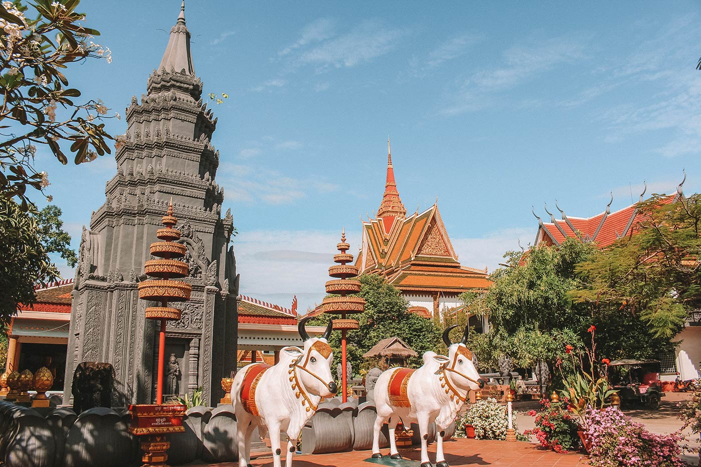 Things to do in Siem Reap blog post Wat Preah Prom Rath City Temple