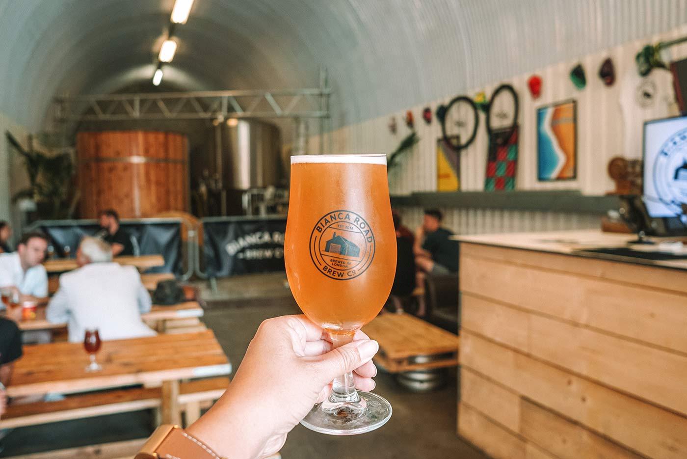 Bermondsey beer mile | Bianca Road