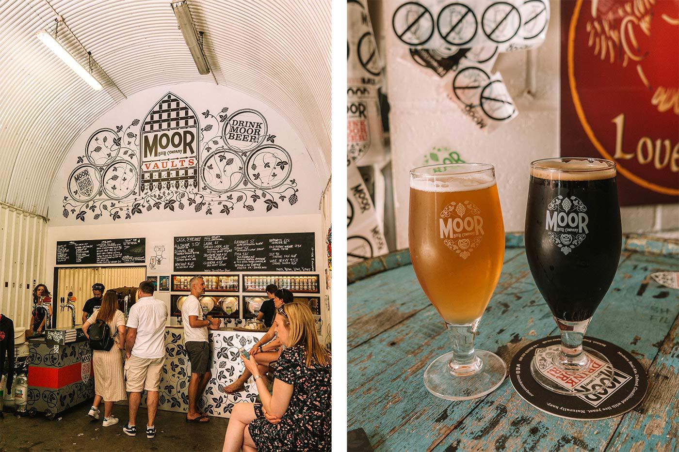Bermondsey beer mile | Moor Beer Co Vaults & Tap Room