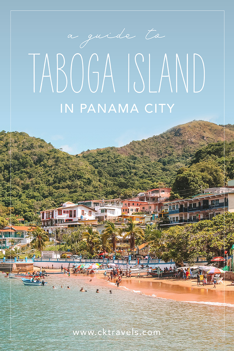Travel guide to Taboga Island in Panama City blog post