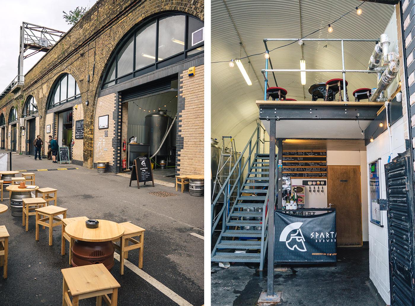 Bermondsey beer mile | Spartan Brewery