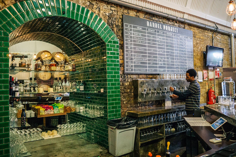 Bermondsey beer mile | The Barrel Project