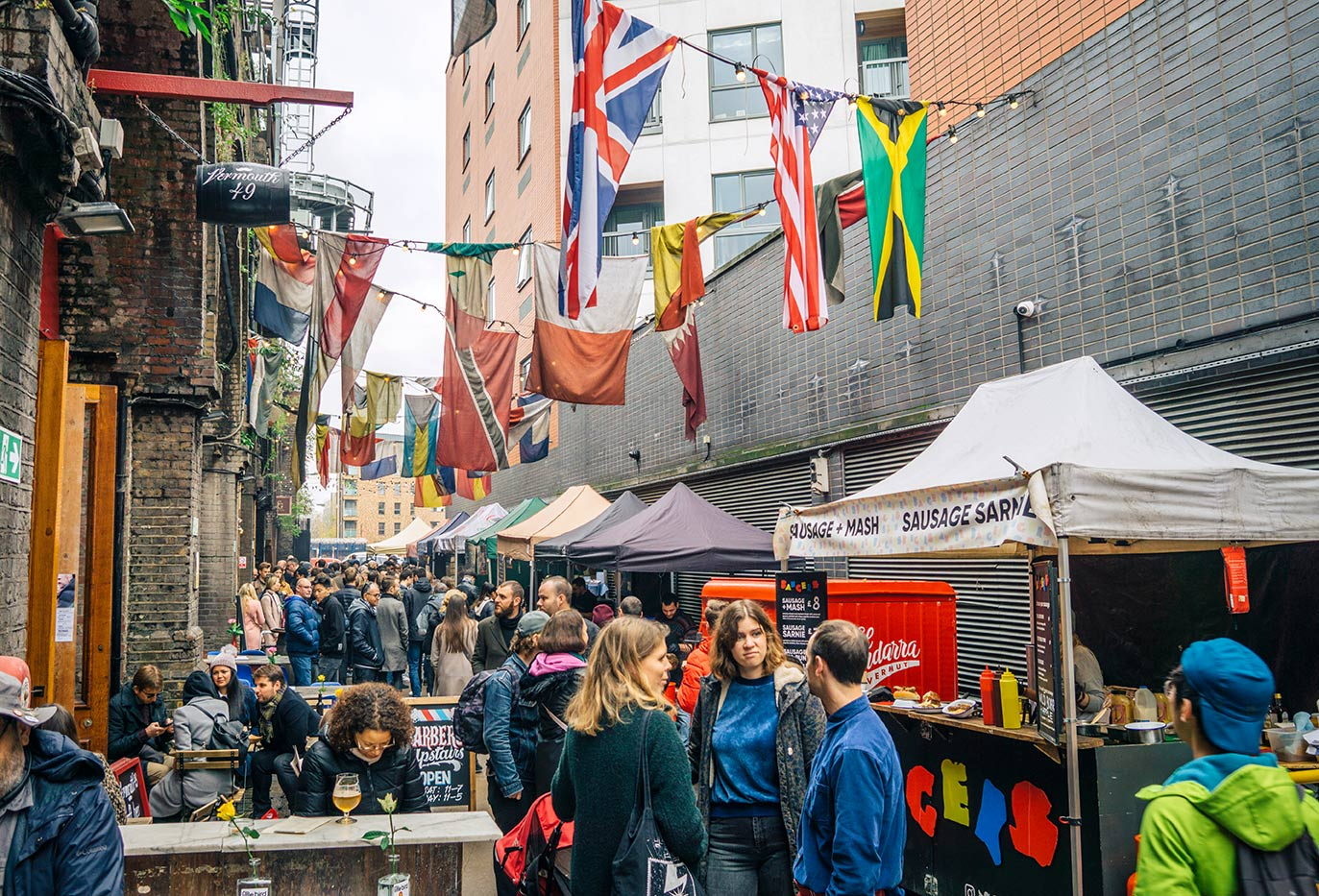 Things to do in London Bridge   Maltby Street Market