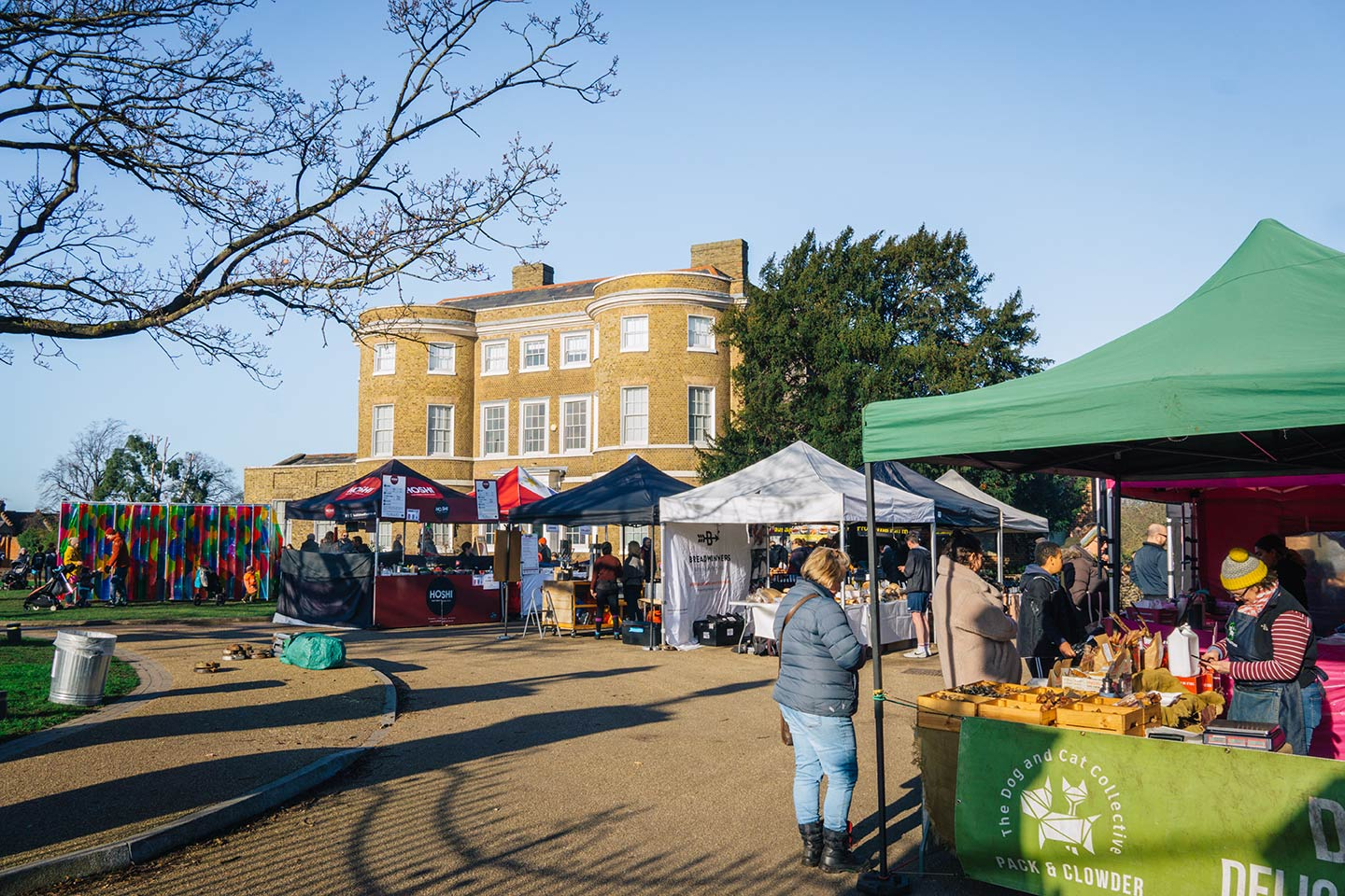 Top things to do in Walthamstow, London | Lloyd Park food market