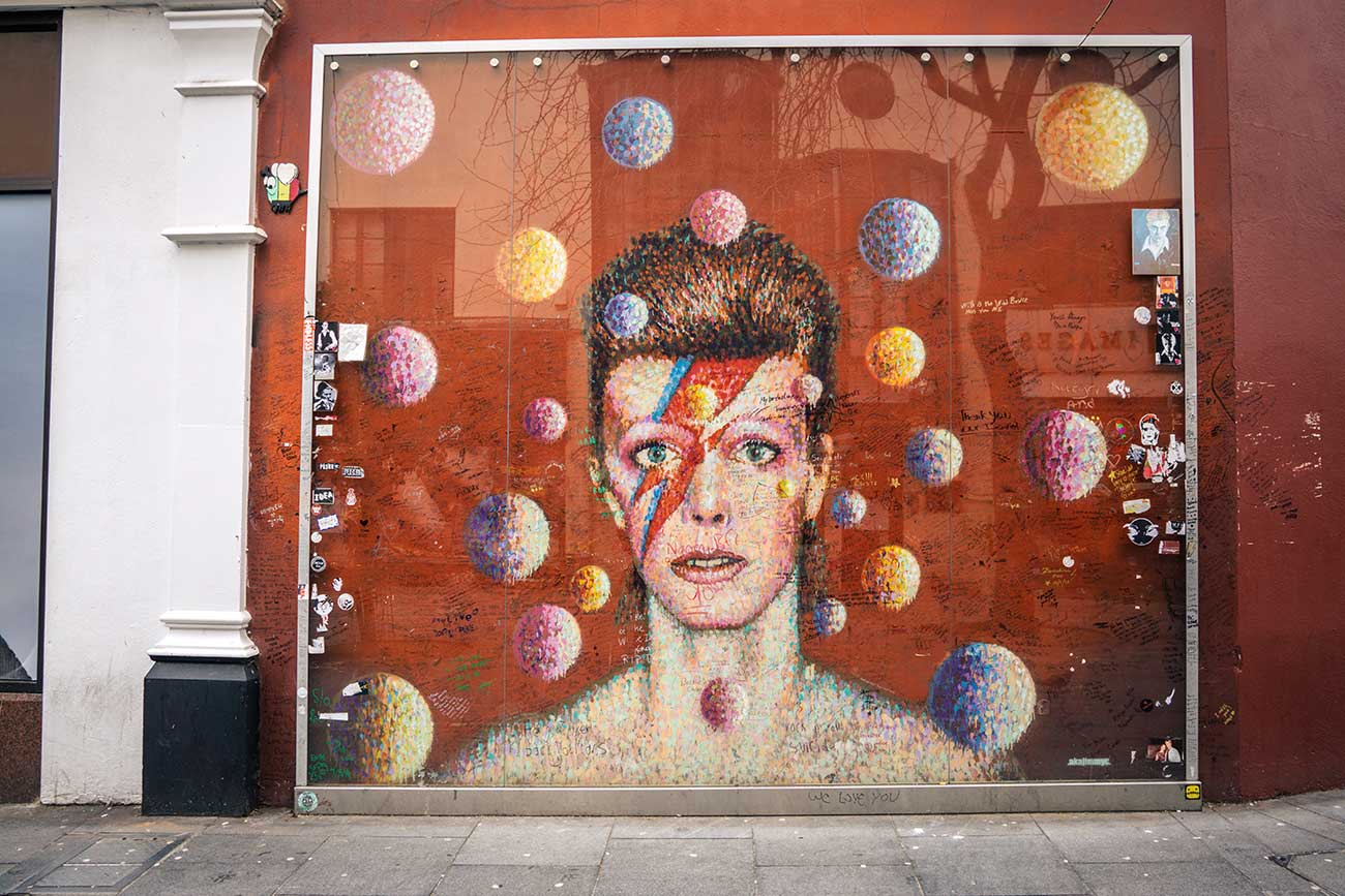 David Bowie Brixton memorial - Top things to do in Brixton, South London