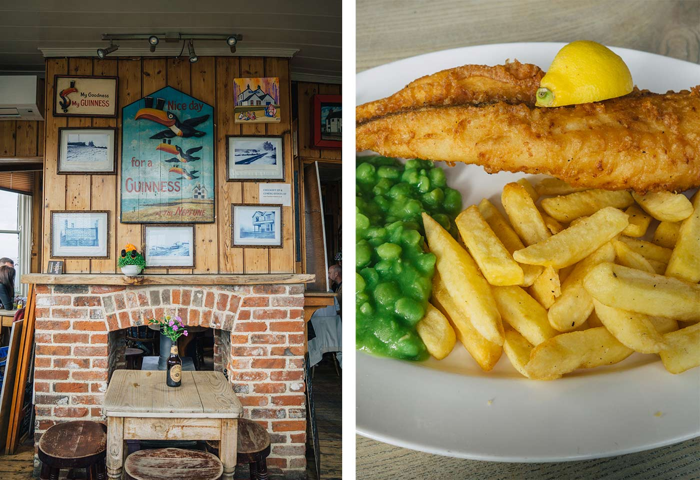 Old Neptune pub | Things to do in Whitstable - a day trip from London blog post
