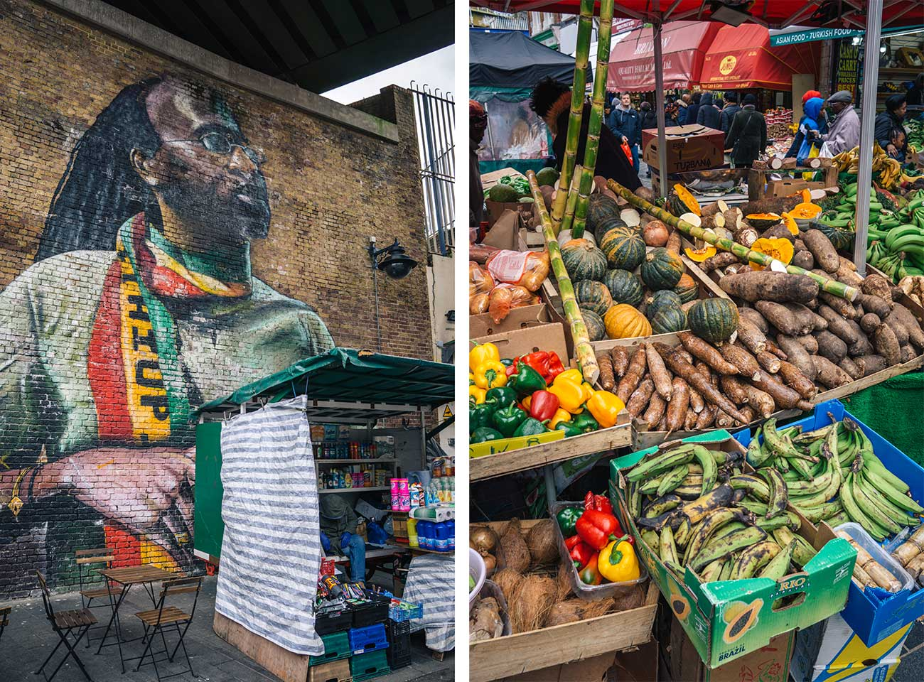 Electric Avenue Brixton Market