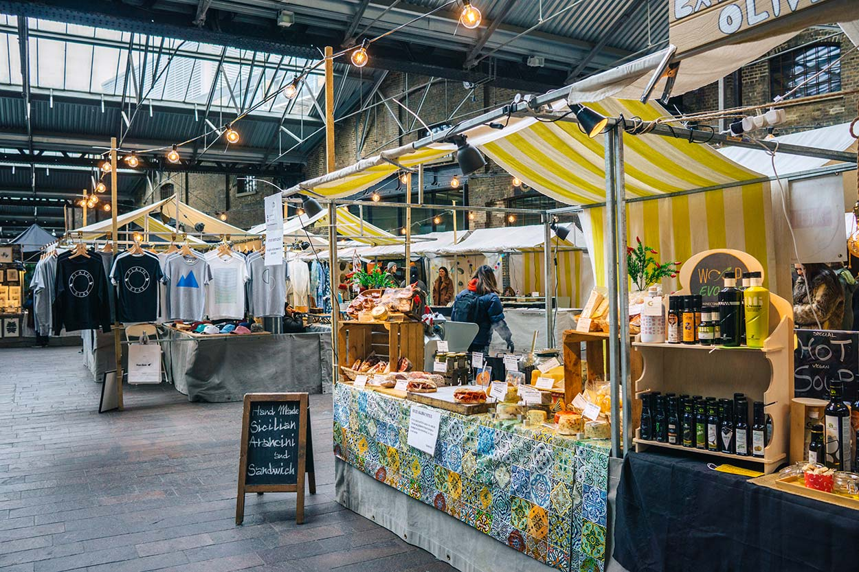 things to do in King's Cross, London | canopy market