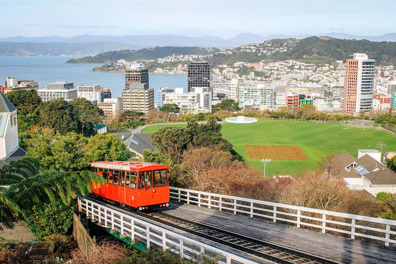 Auckland to Wellington - a 7 day North Island road trip itinerary