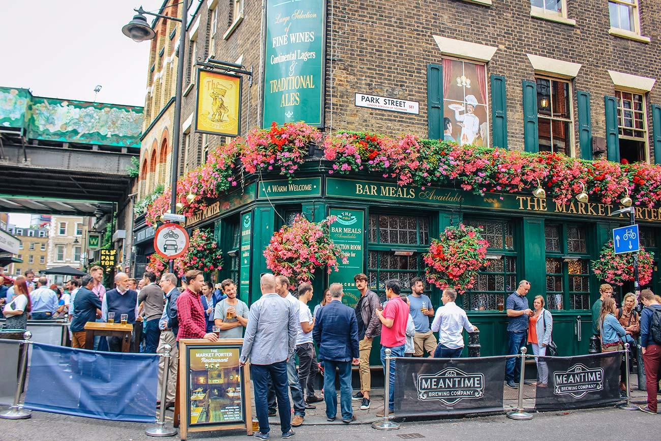 Market porter pub london bridge