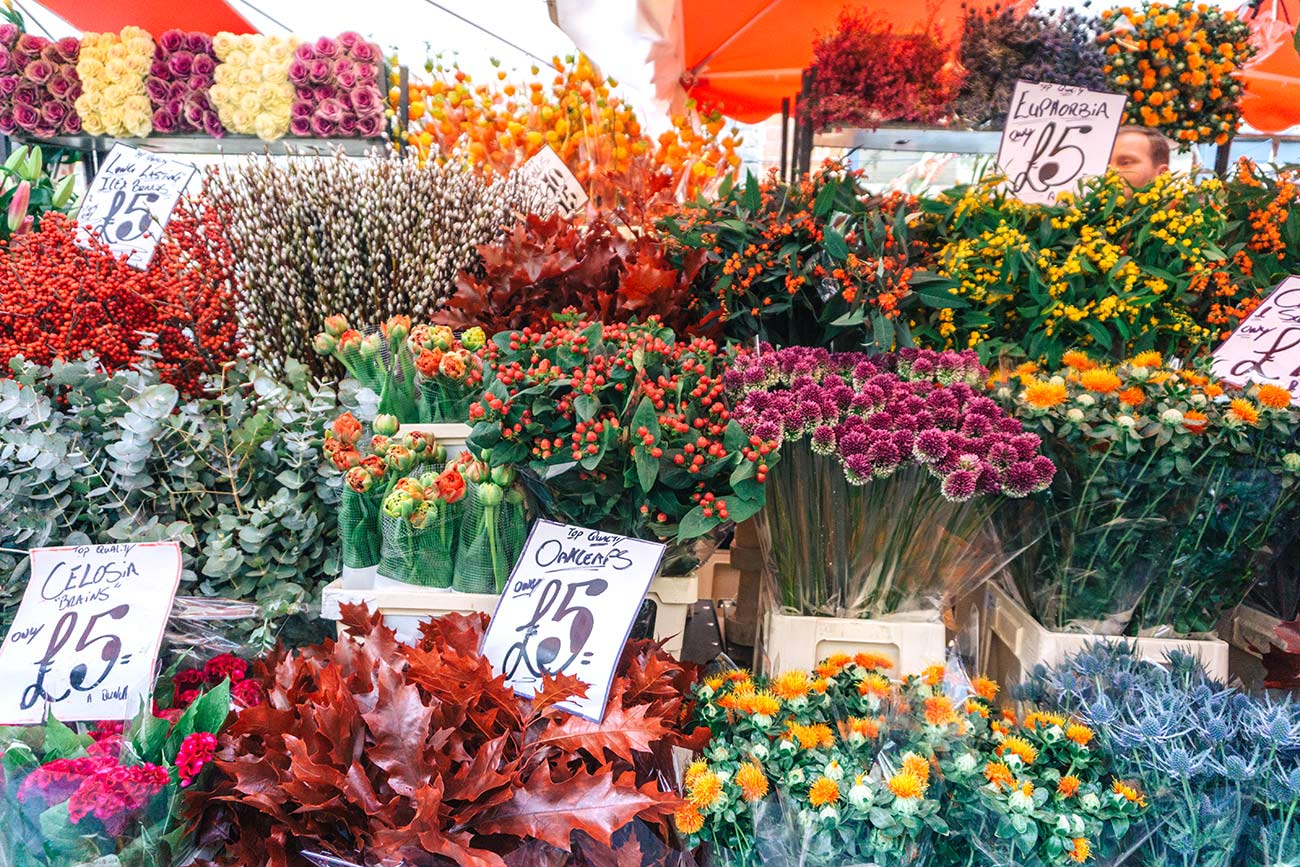 Columbia Road Flower Market, London - a complete guide