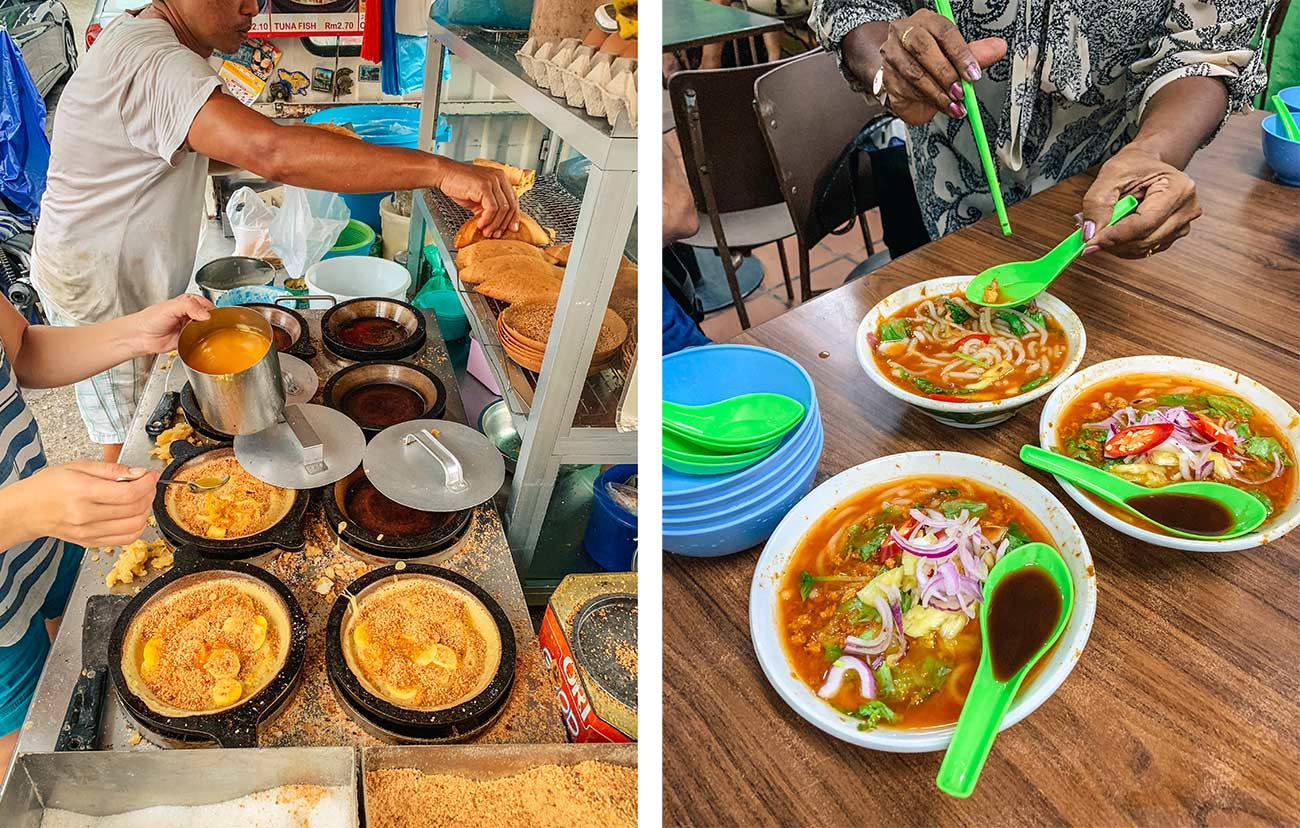 Food tour in Penang Malaysia