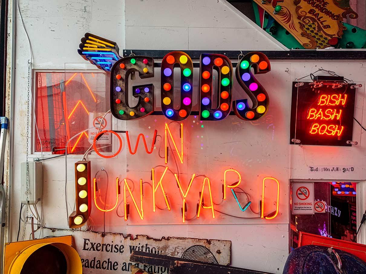 God's Own Junkyard, Walthamstow