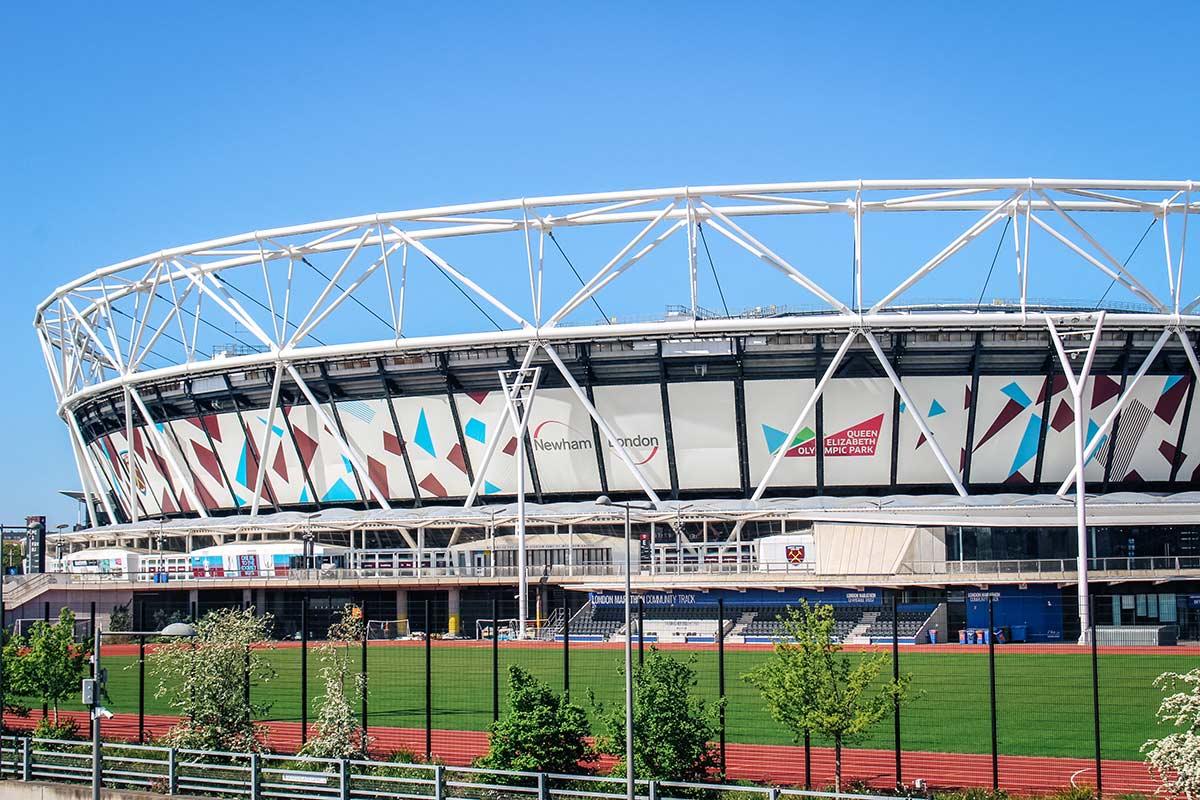 Stratford Queen Elizabeth Olympic Park West ham stadium