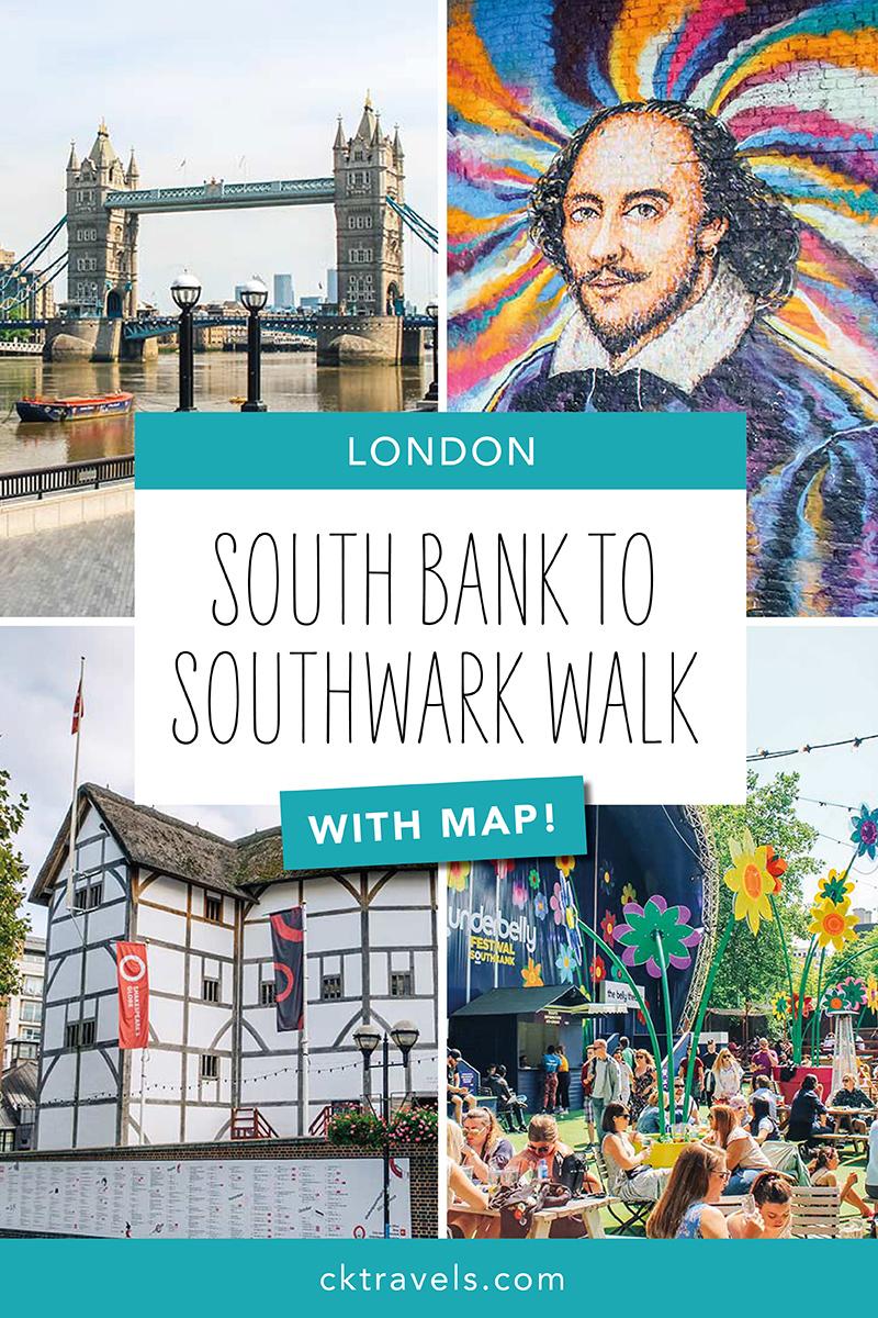 South Bank walk - best walks around London