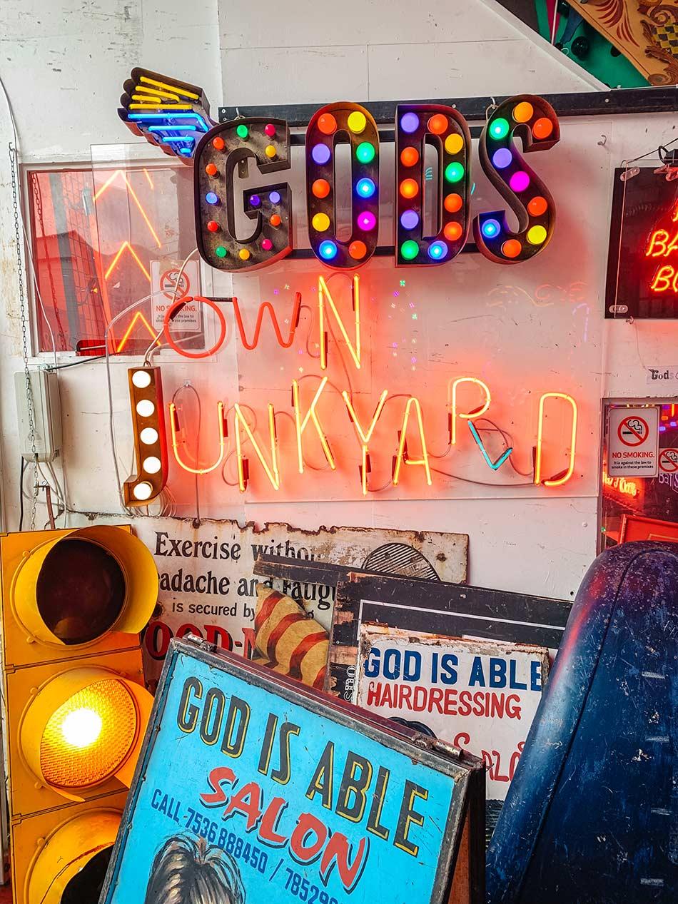 God's Own Junkyard London Walthamstow