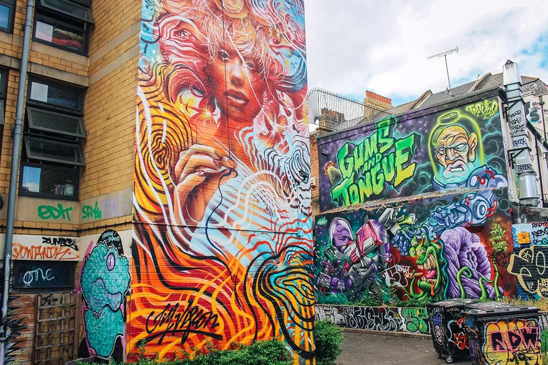 Code Street / Allen Gardens street art