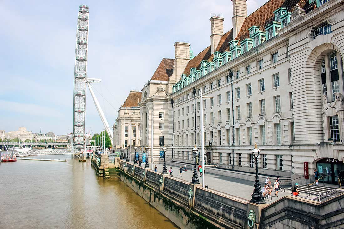 South Bank walk - one of the best walks around London (with map)
