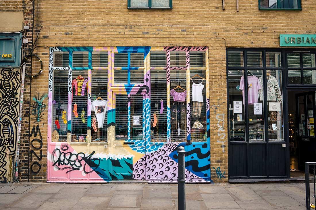 Brick Lane shop