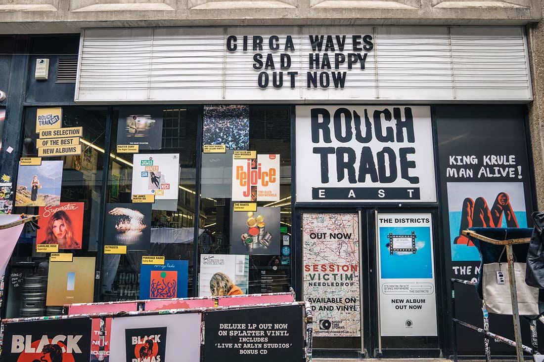 rough trade shop shoreditch