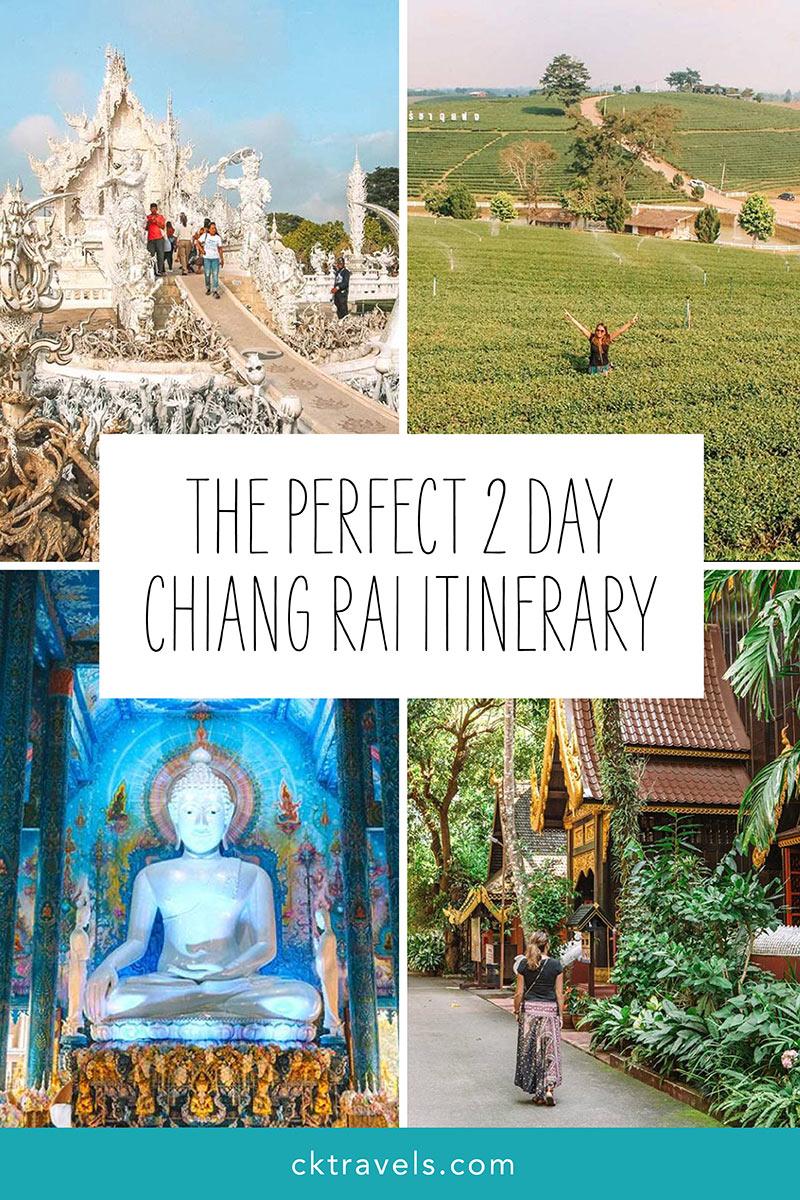 Chiang Rai itinerary