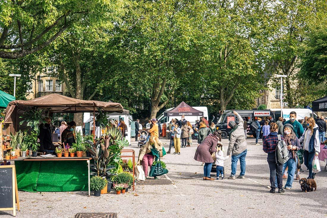 Brockley Market, south London - Best Saturday markets in London