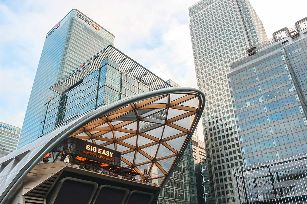 Things to do in Canary Wharf and Docklands, London - Big Easy