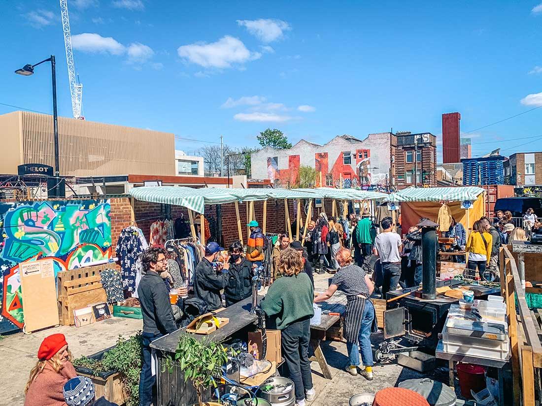 Maker's Market at White Post Lane Hackney wick