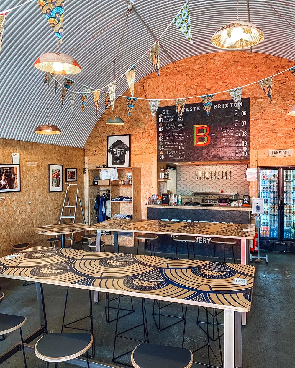 Brixton Brewery Tap Room