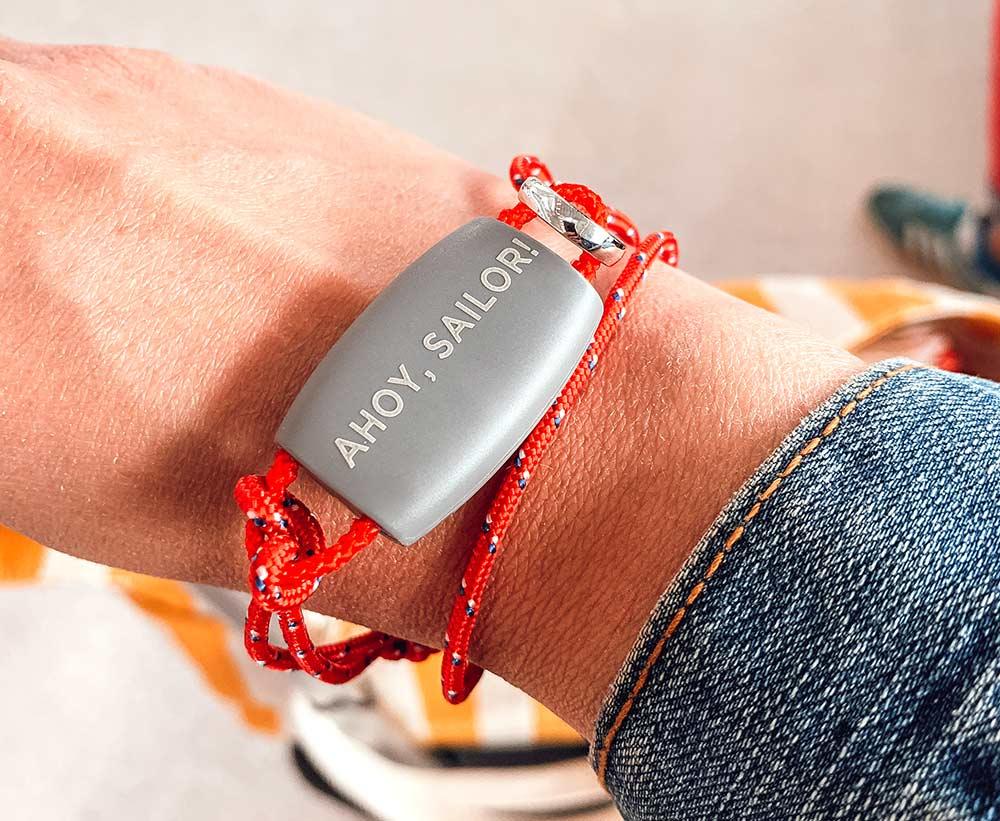 wristband bracelet onboard Virgin Voyages Scarlet Lady cruise ship